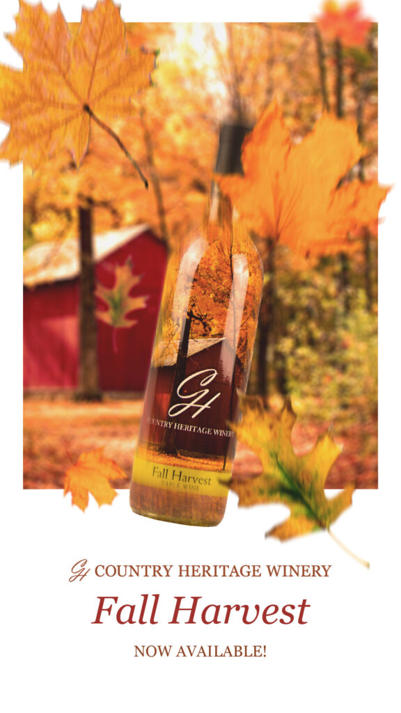Fall Harvest Now Available